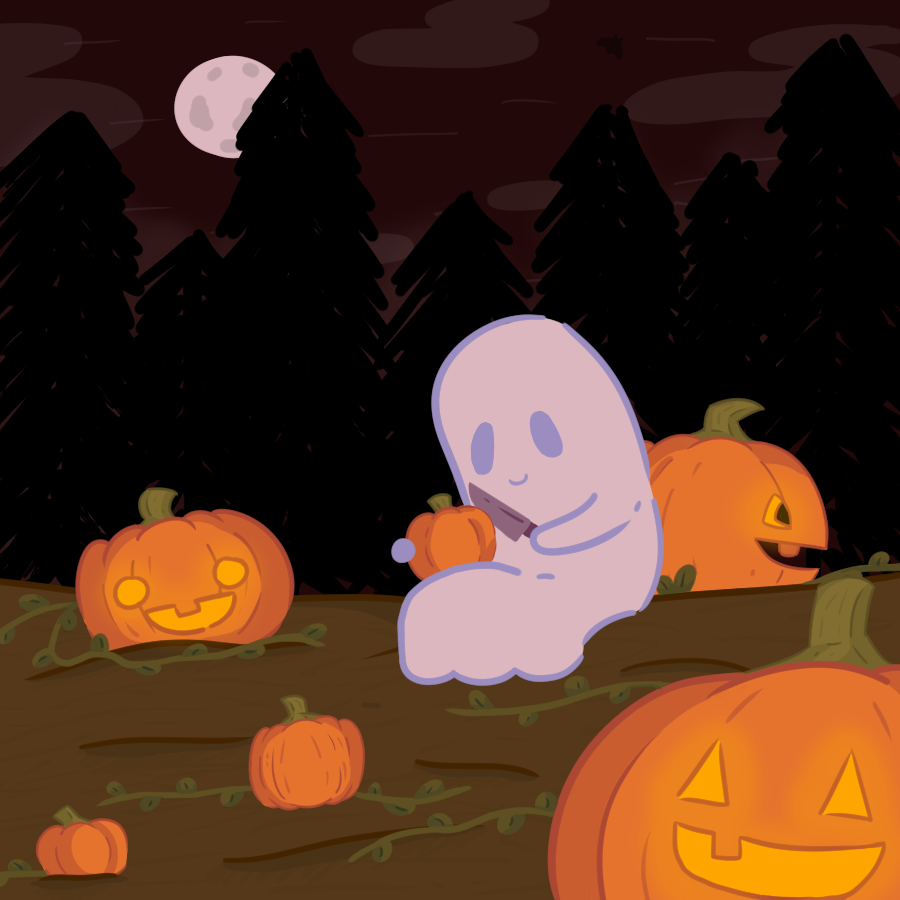 A ghost, in my pumpkin patch? It's more likely than you think