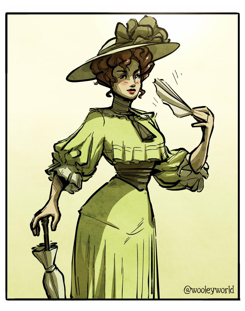 Edwardian Lady 3