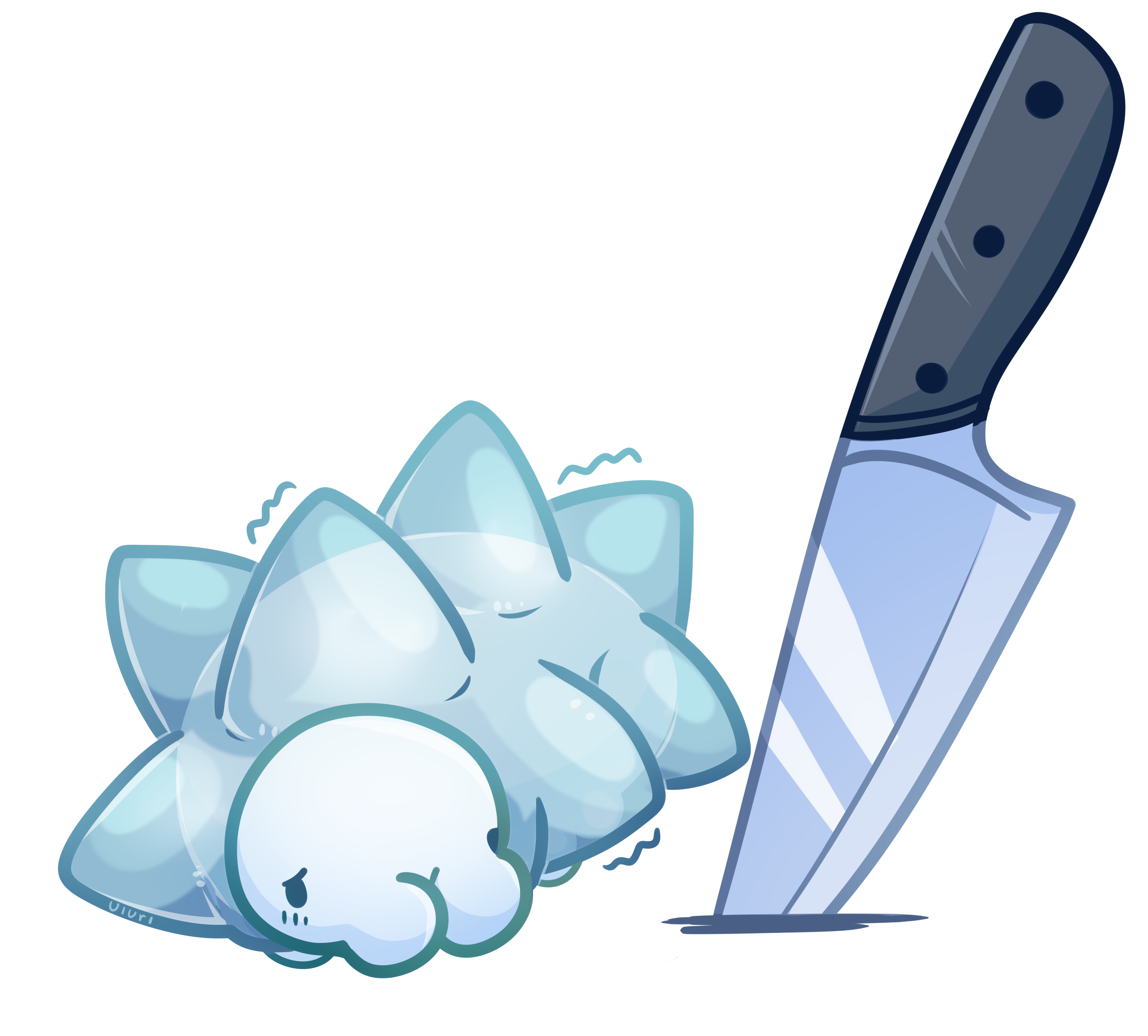 Snom and Knife