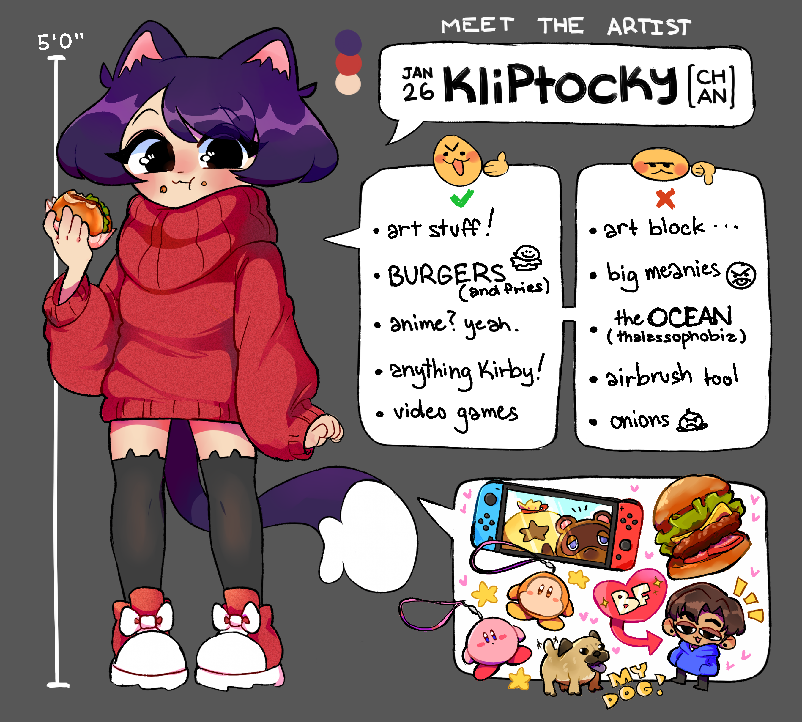 meet the artist - kliptocky