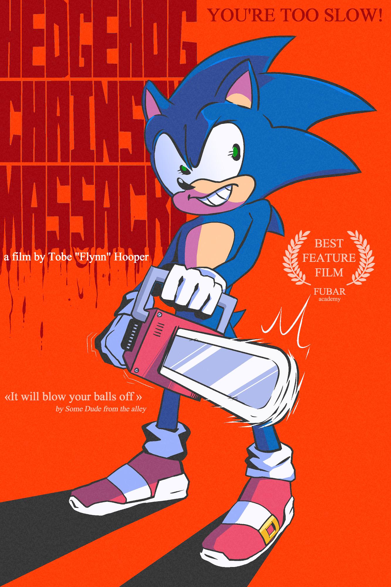 The Hedgehog Chainsaw Massacre