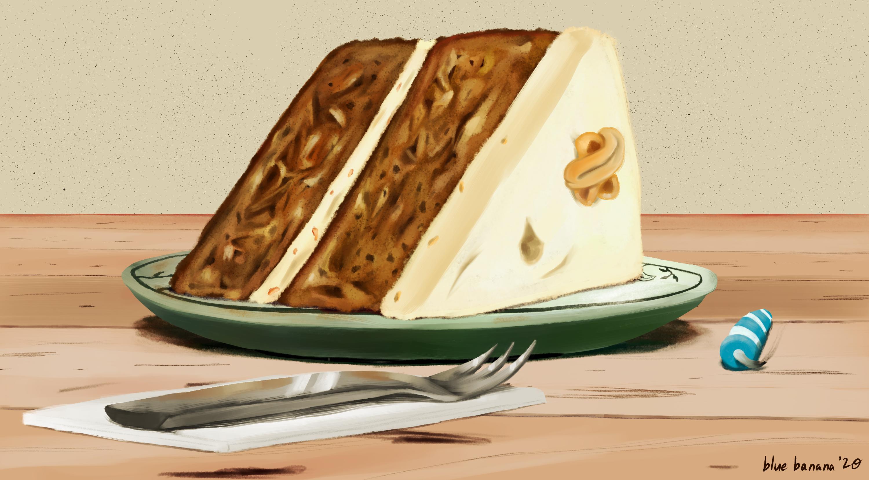 Birthday Banana Cake