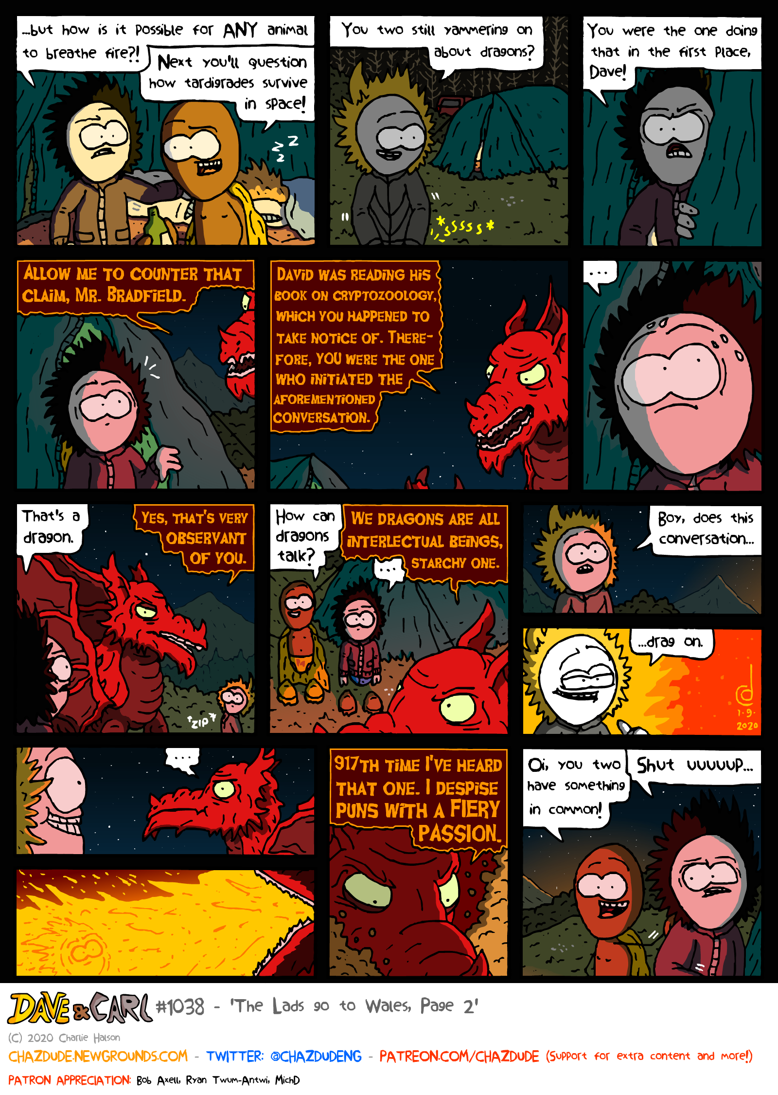 The Lads go to Wales, Page 2