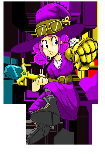 Steam Witch Violet