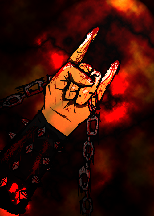 metal hand m by xionico on newgrounds