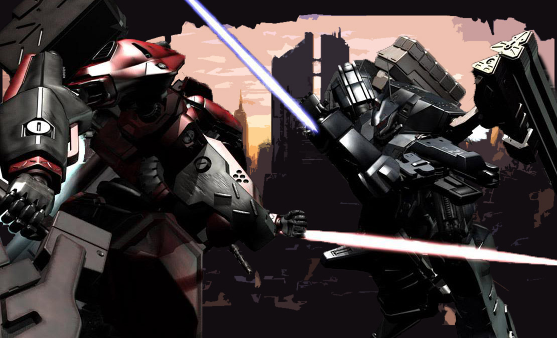 Armored Core fight