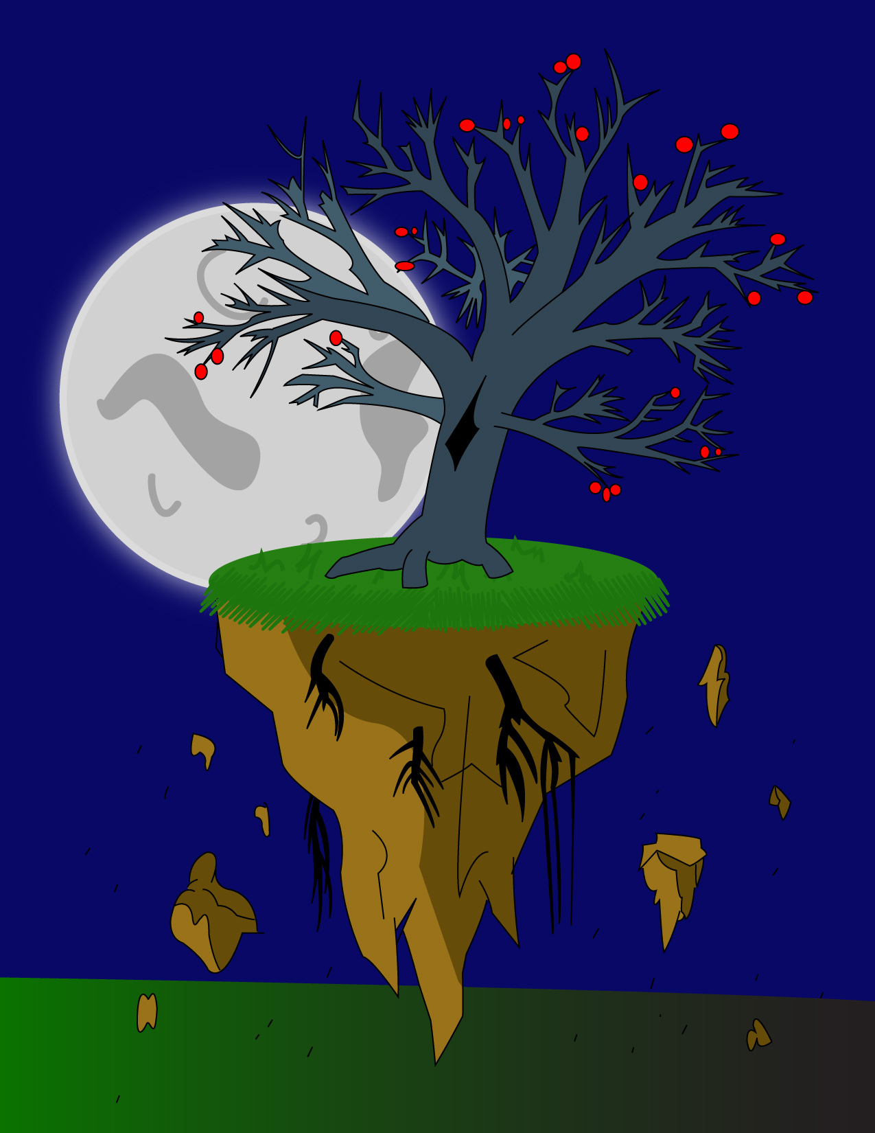 -[FR]- Under the apple tree