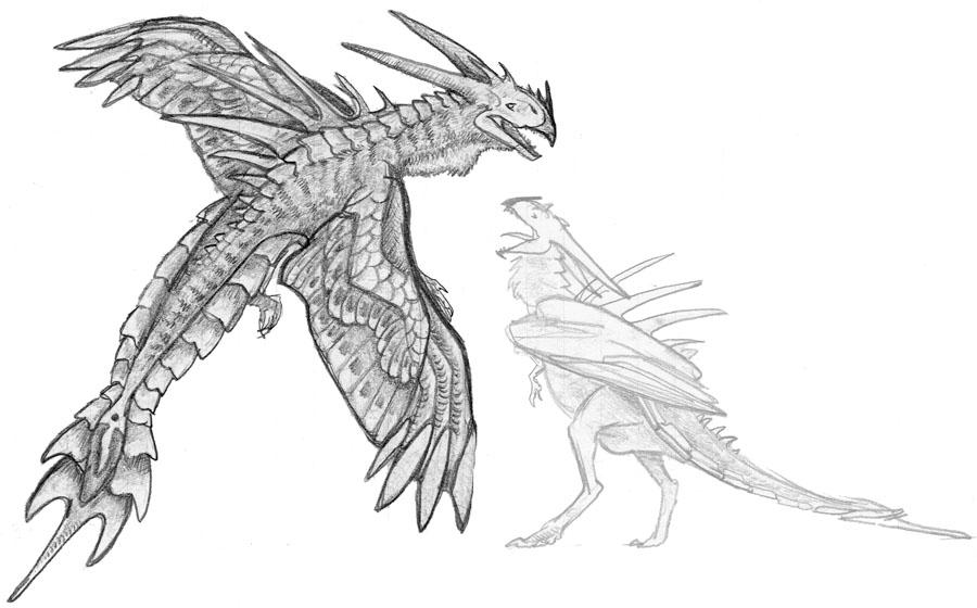 Flying Turkey Monster