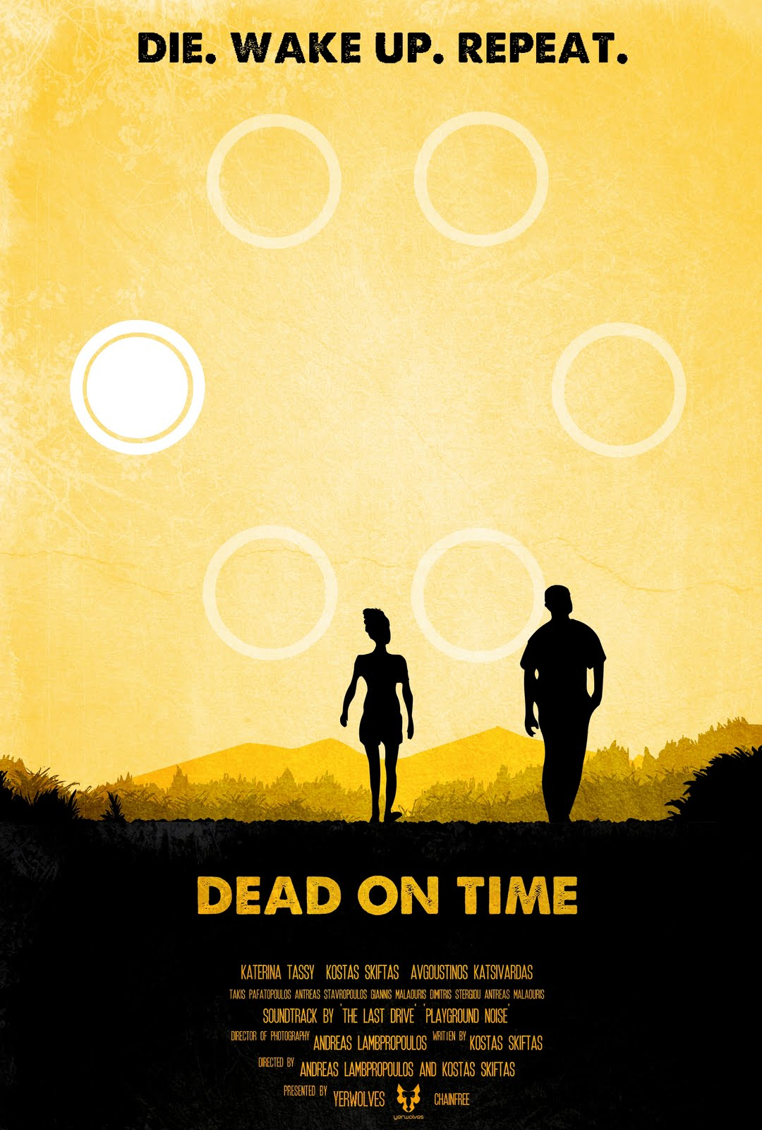 'Dead on Time' poster