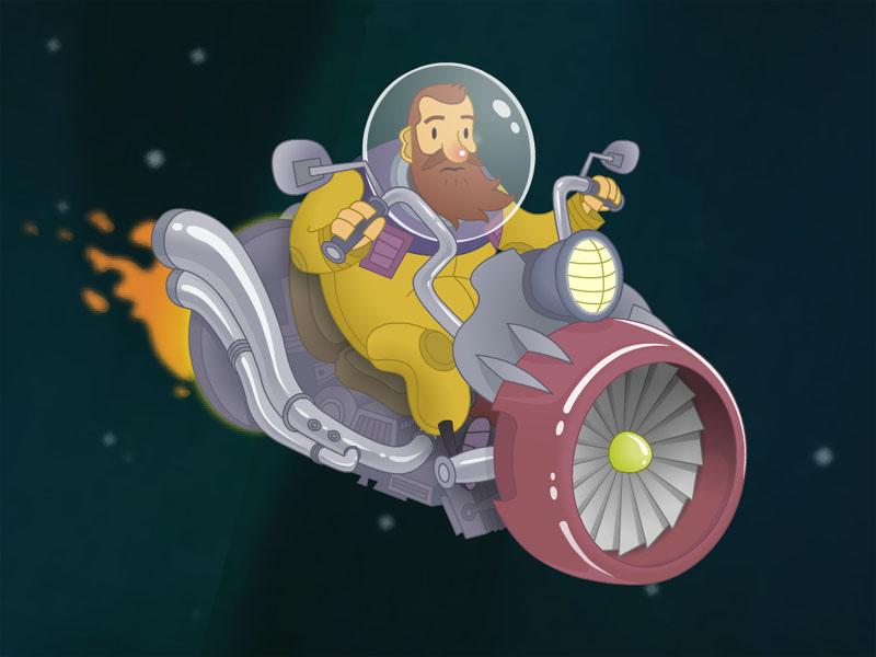 Ivan The Space Biker 02