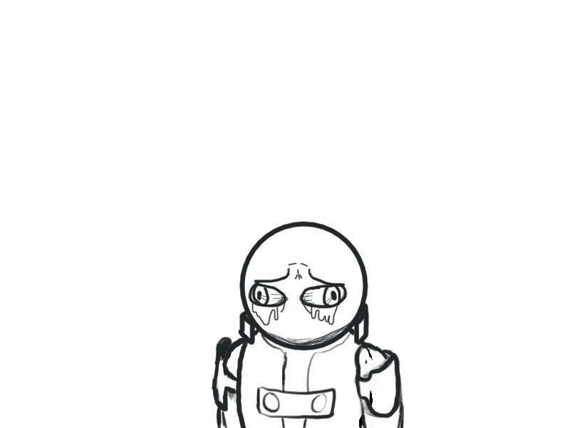 Sad sad commando