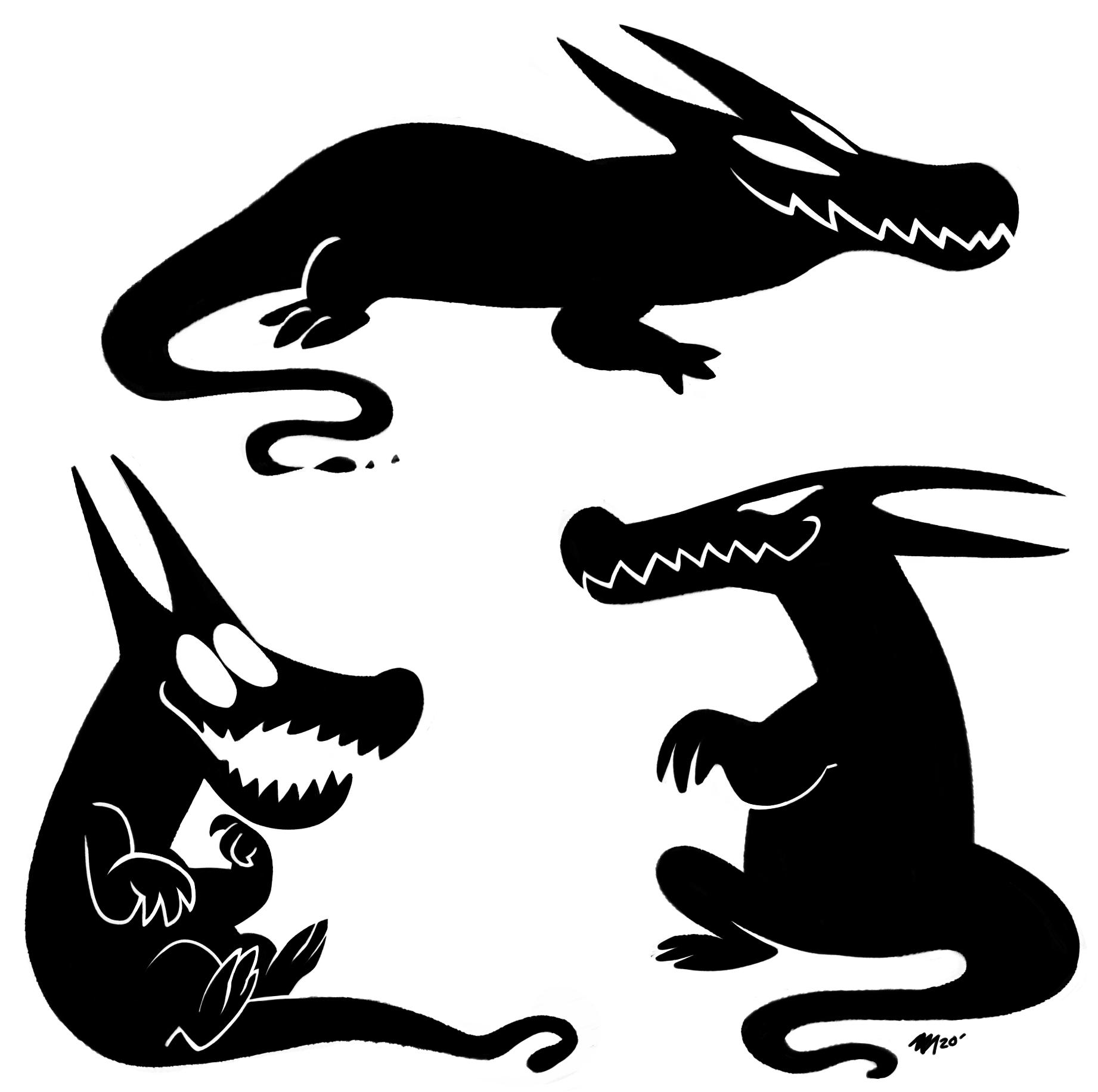 Smot Monster Doodles