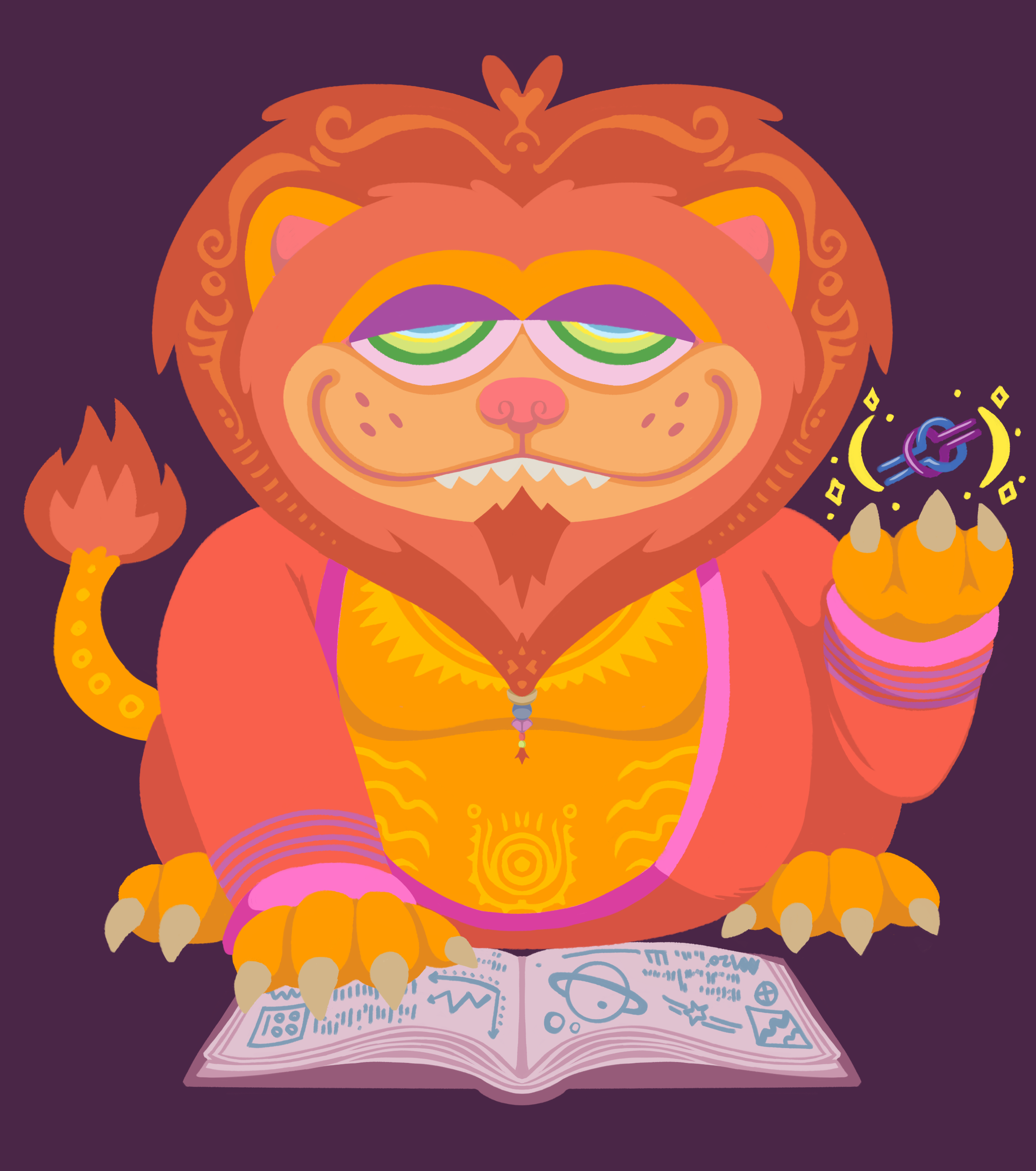 Lion of Knowledge