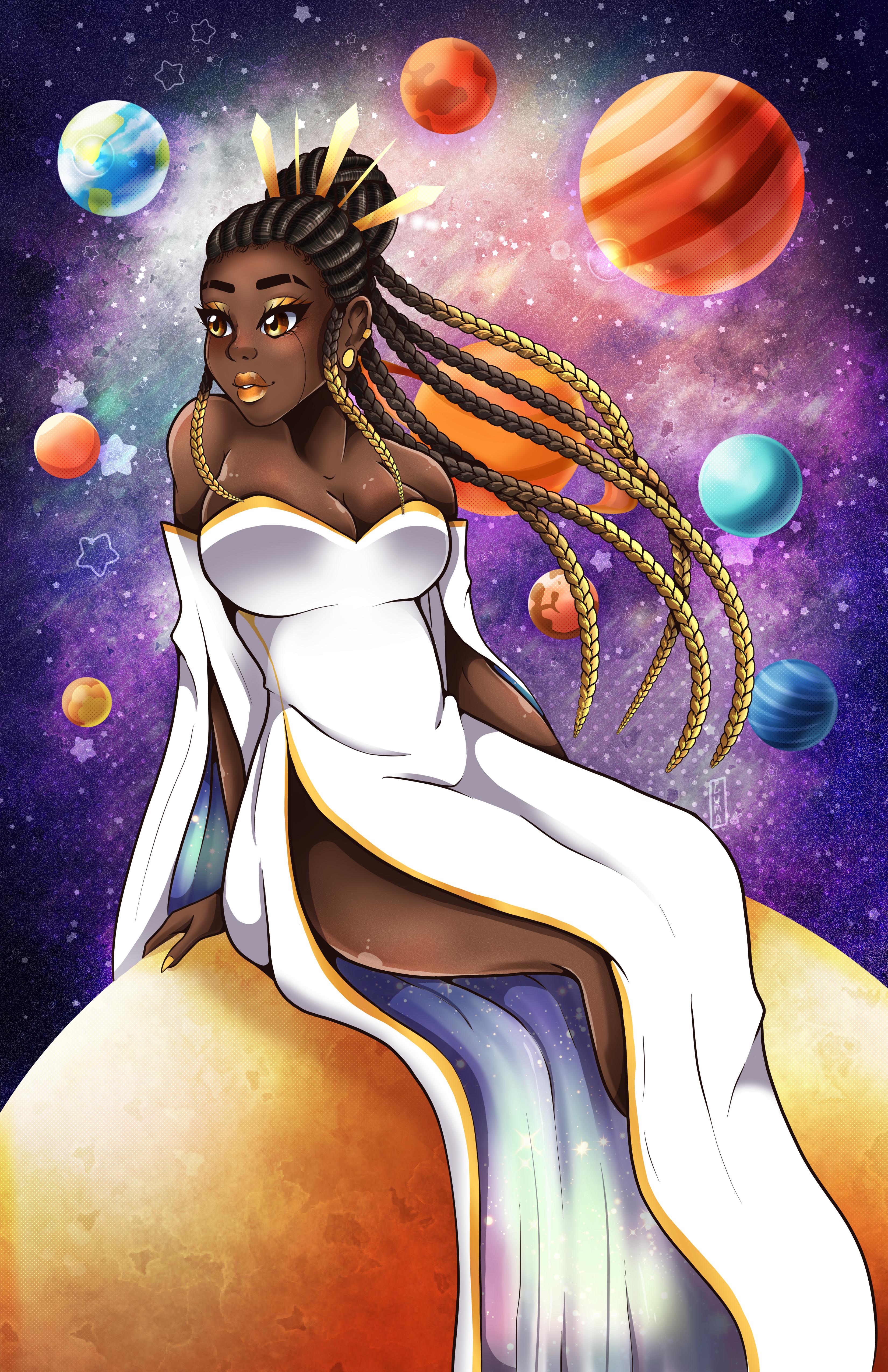 Sun Goddess in her Galaxy