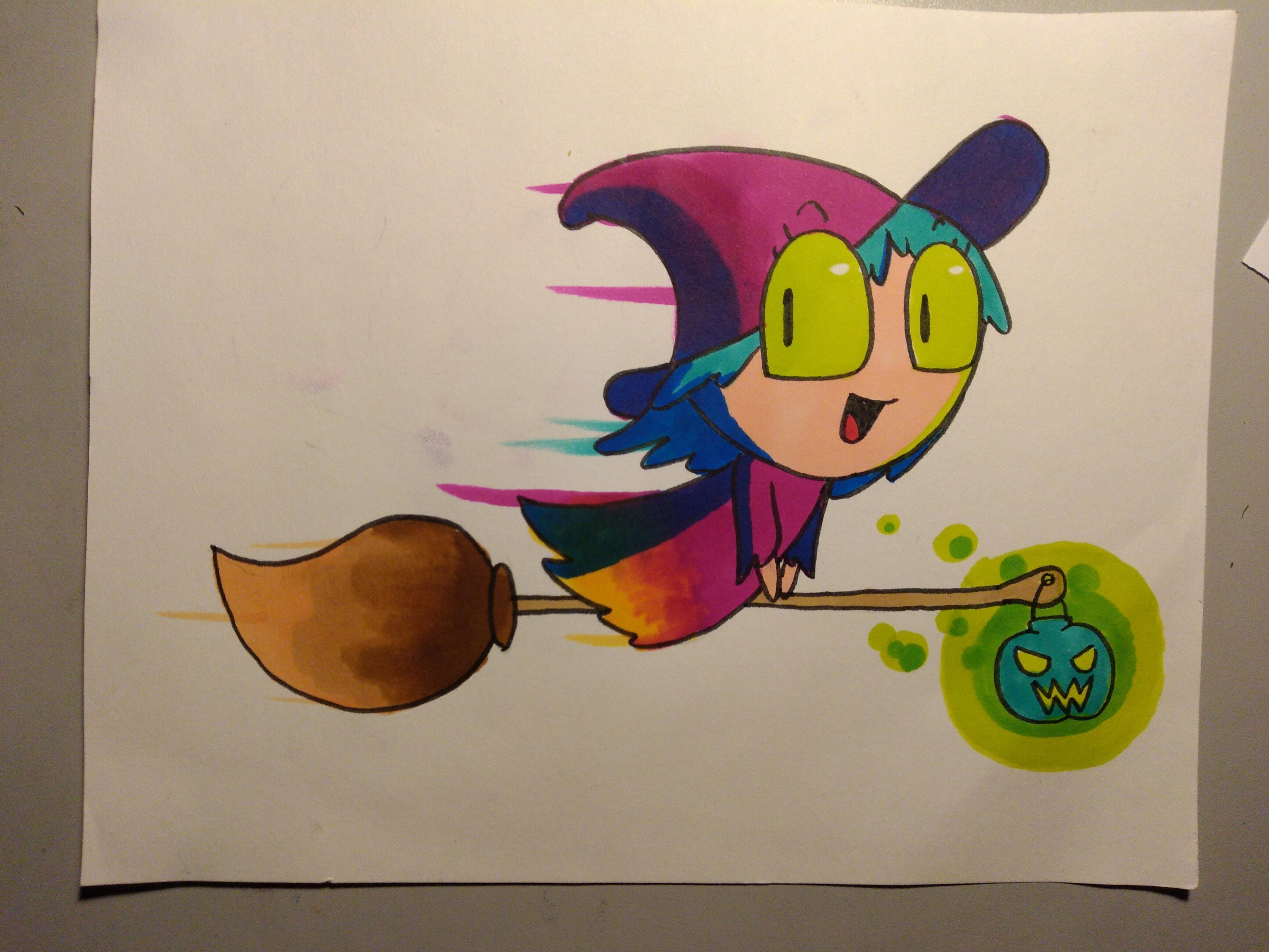 Tiny witch