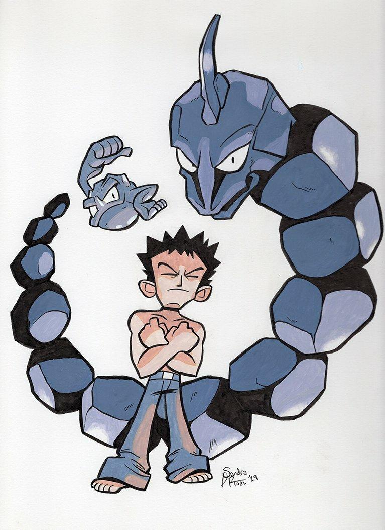 Kanto Gym Leader Brock