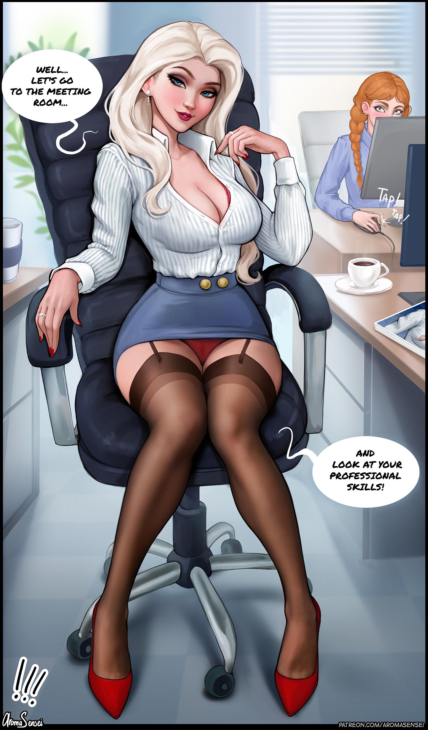 Job interview!❄️