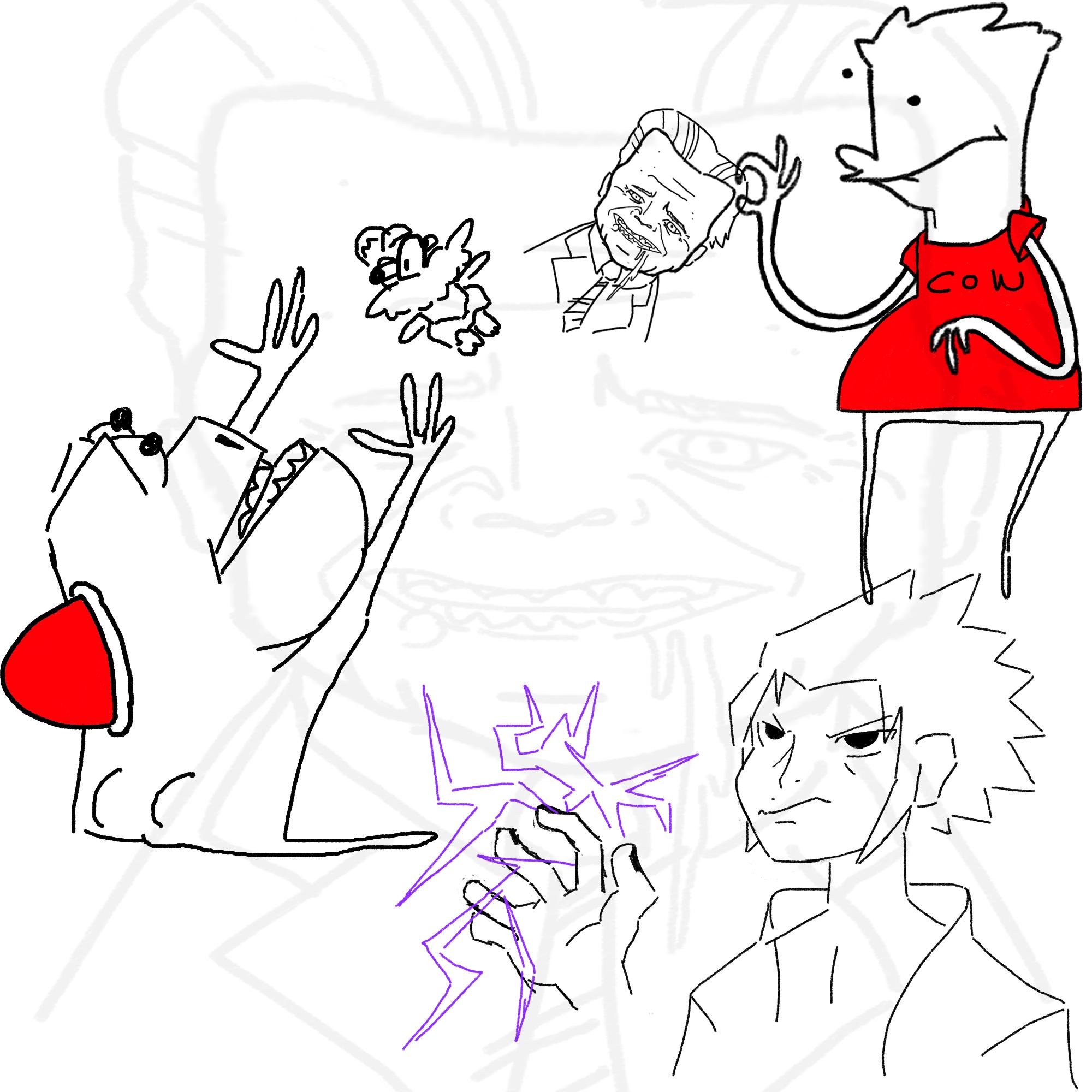 Bart and yoshi trade