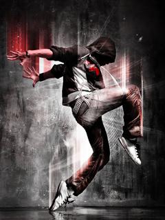 Red Effect Dancer