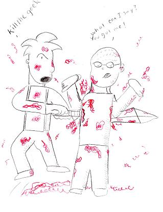 "Just got ""geeked"" by Albert G"