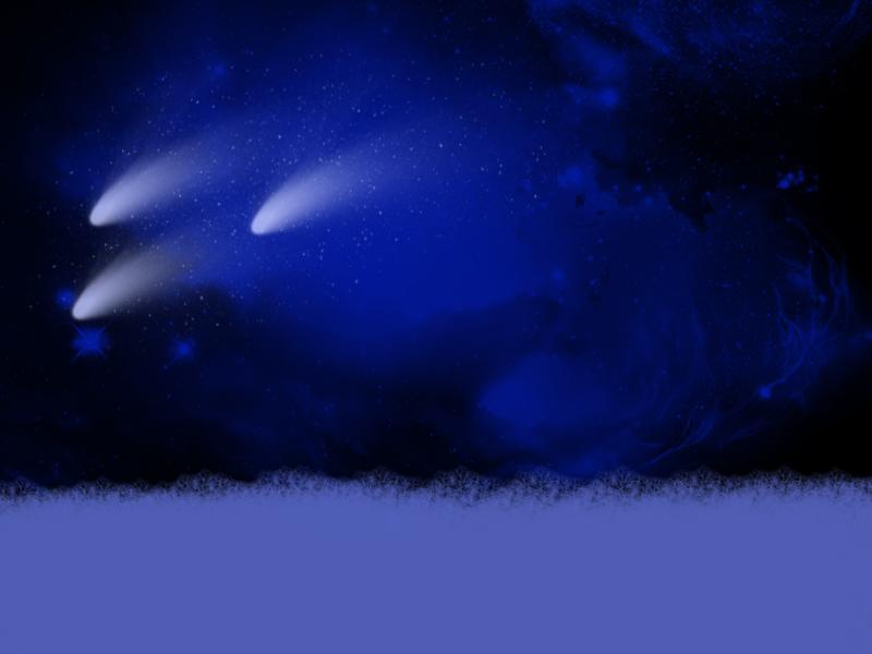 Winter Shooting Stars