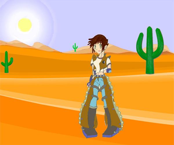 Desert Cowgirl