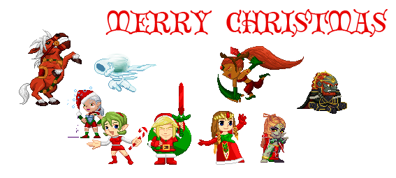 Merry Christmas From Hyrule