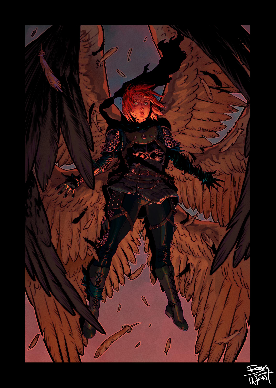 Elanin angel of death