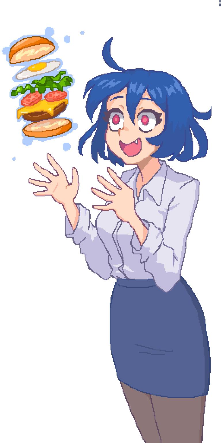 hamburger :D