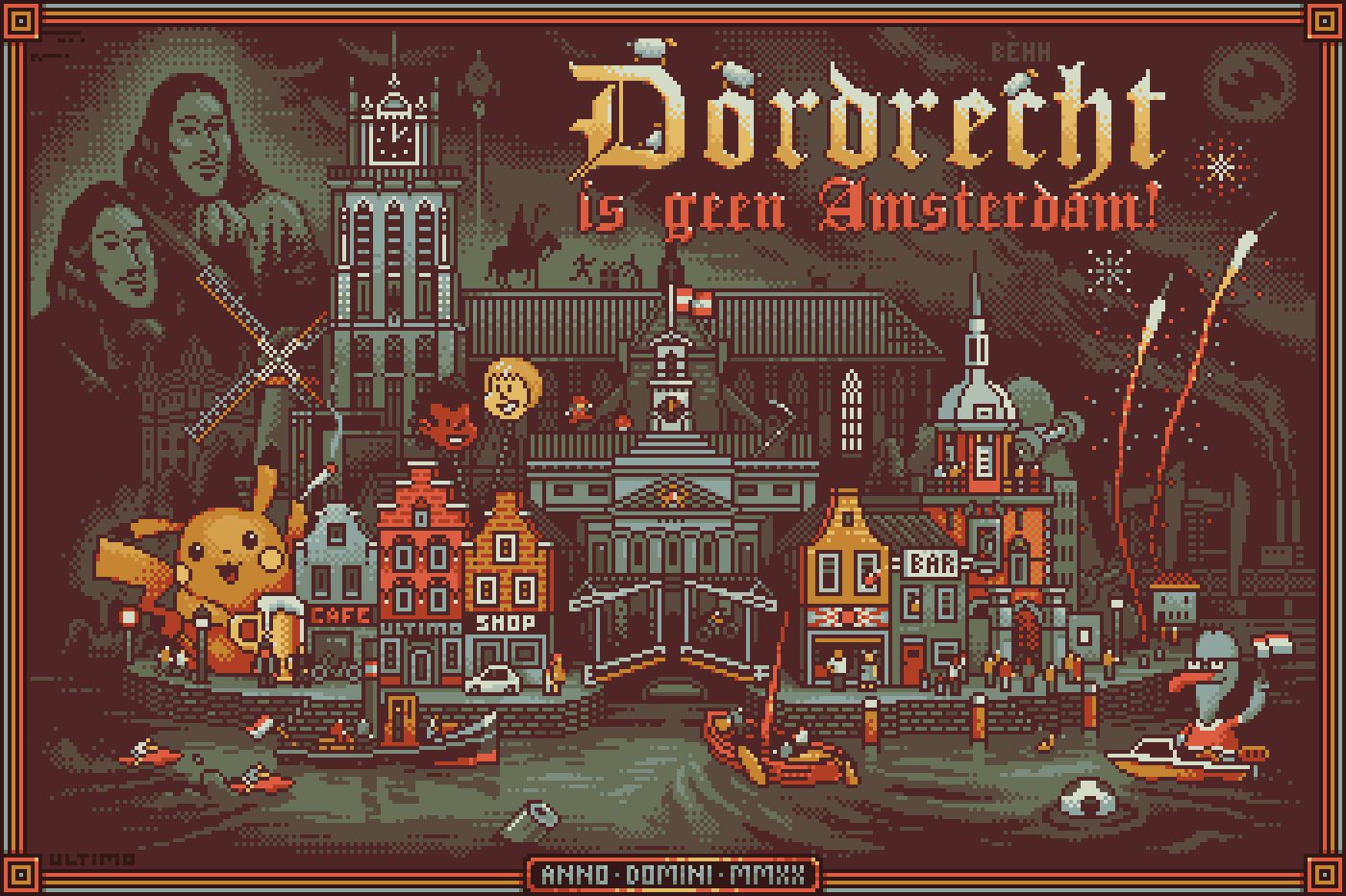 Dordrecht is geen Amsterdam!