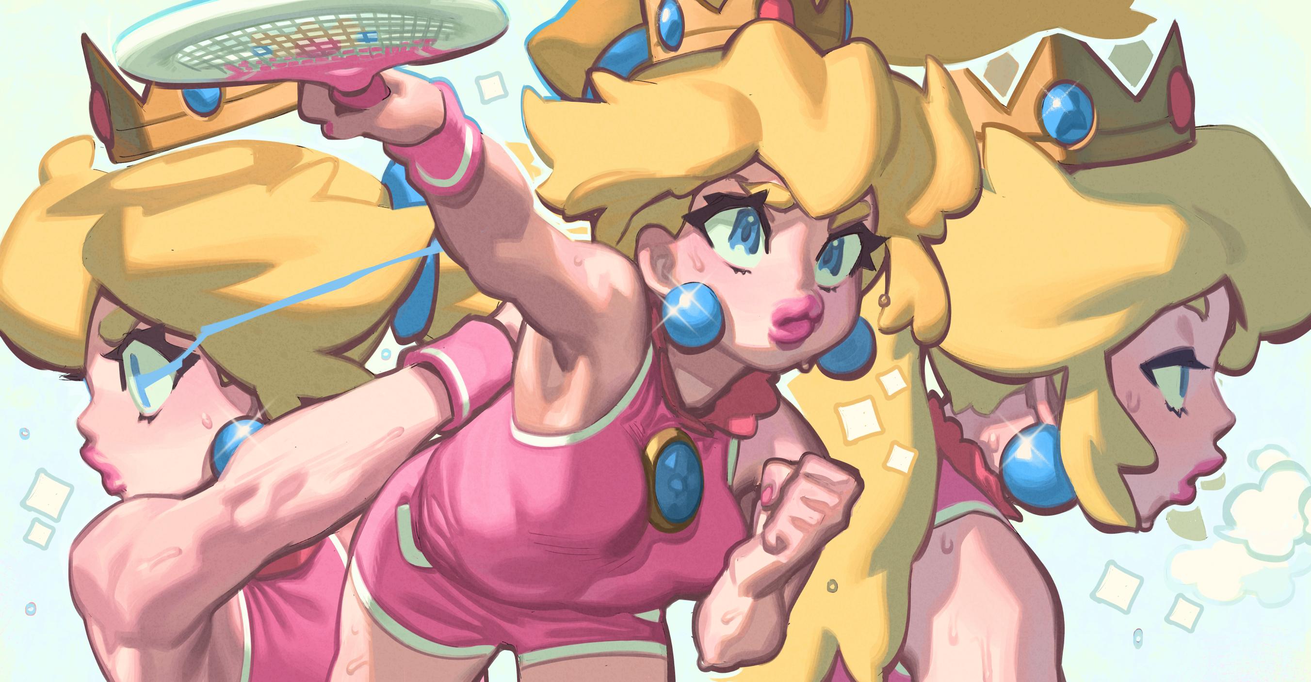 Peach Tennis