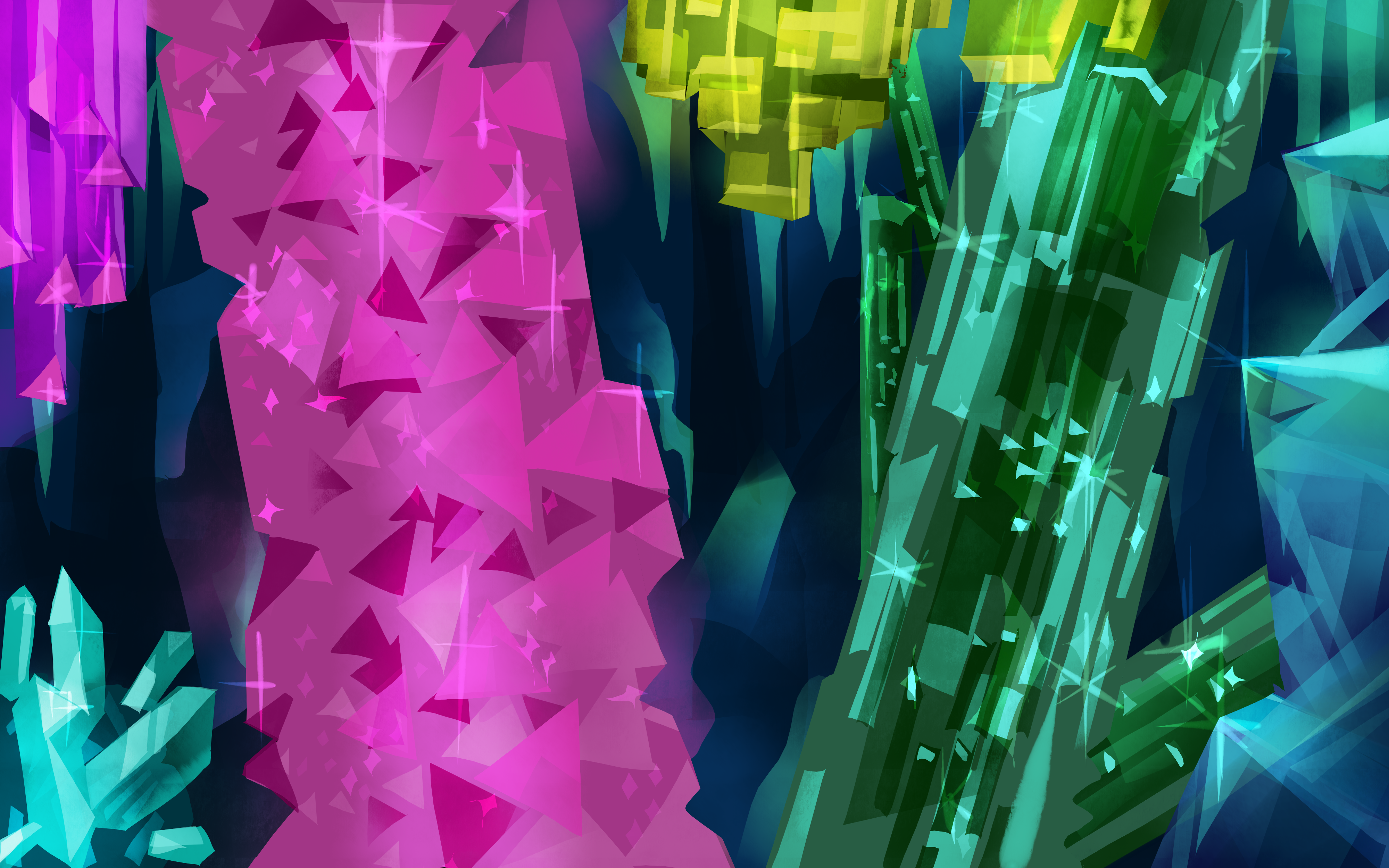 Crystal cave!