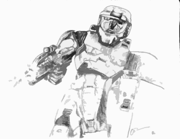 Master Chief and BR