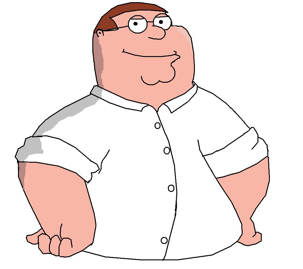 I drew Peter Griffin