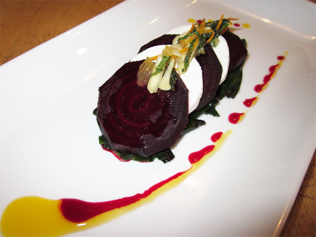 Beets and Chevre