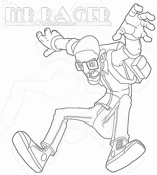 Mr. Rager Sketchy