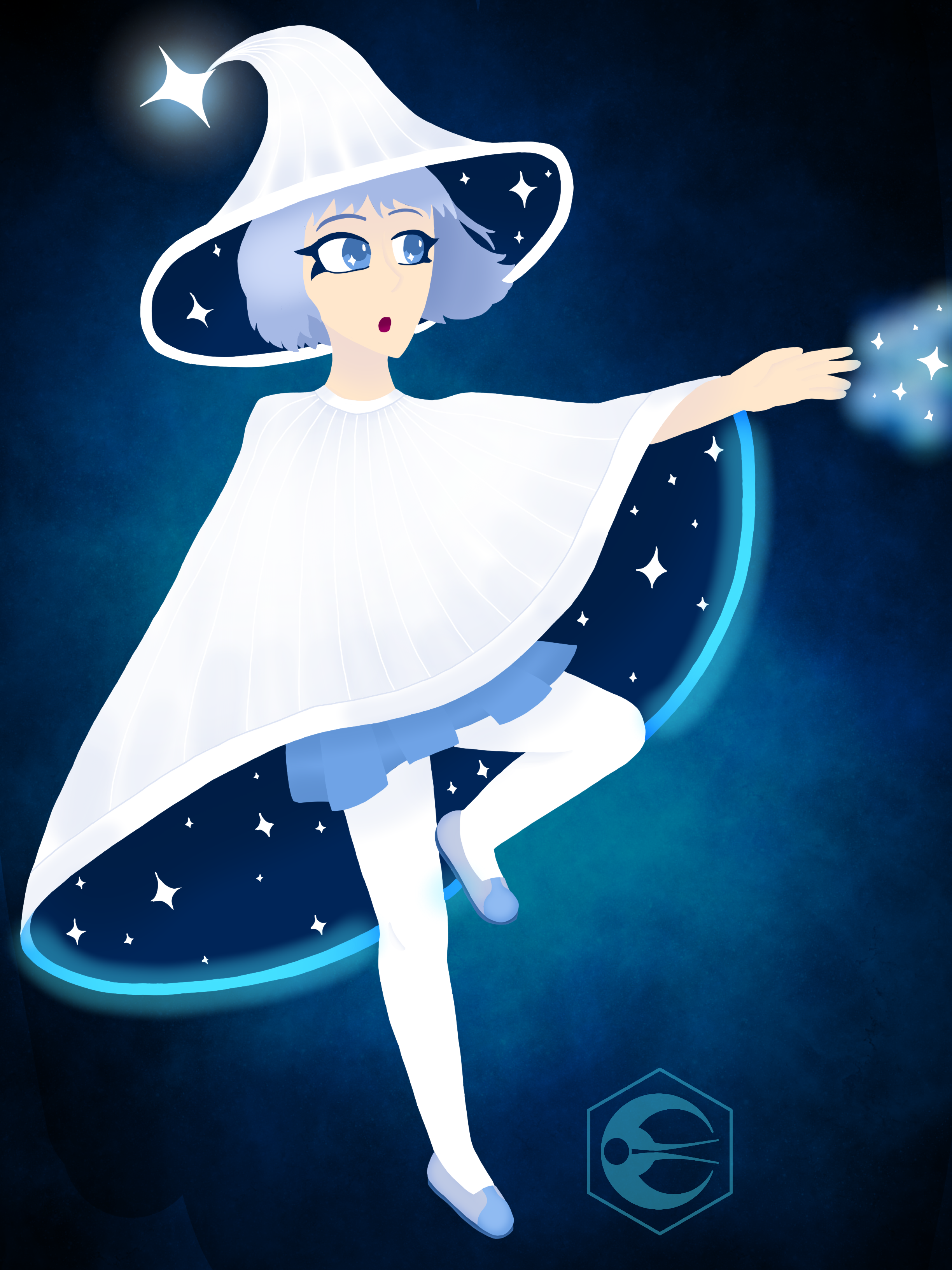 [Theme Park Inspired] Space Mountain Witch