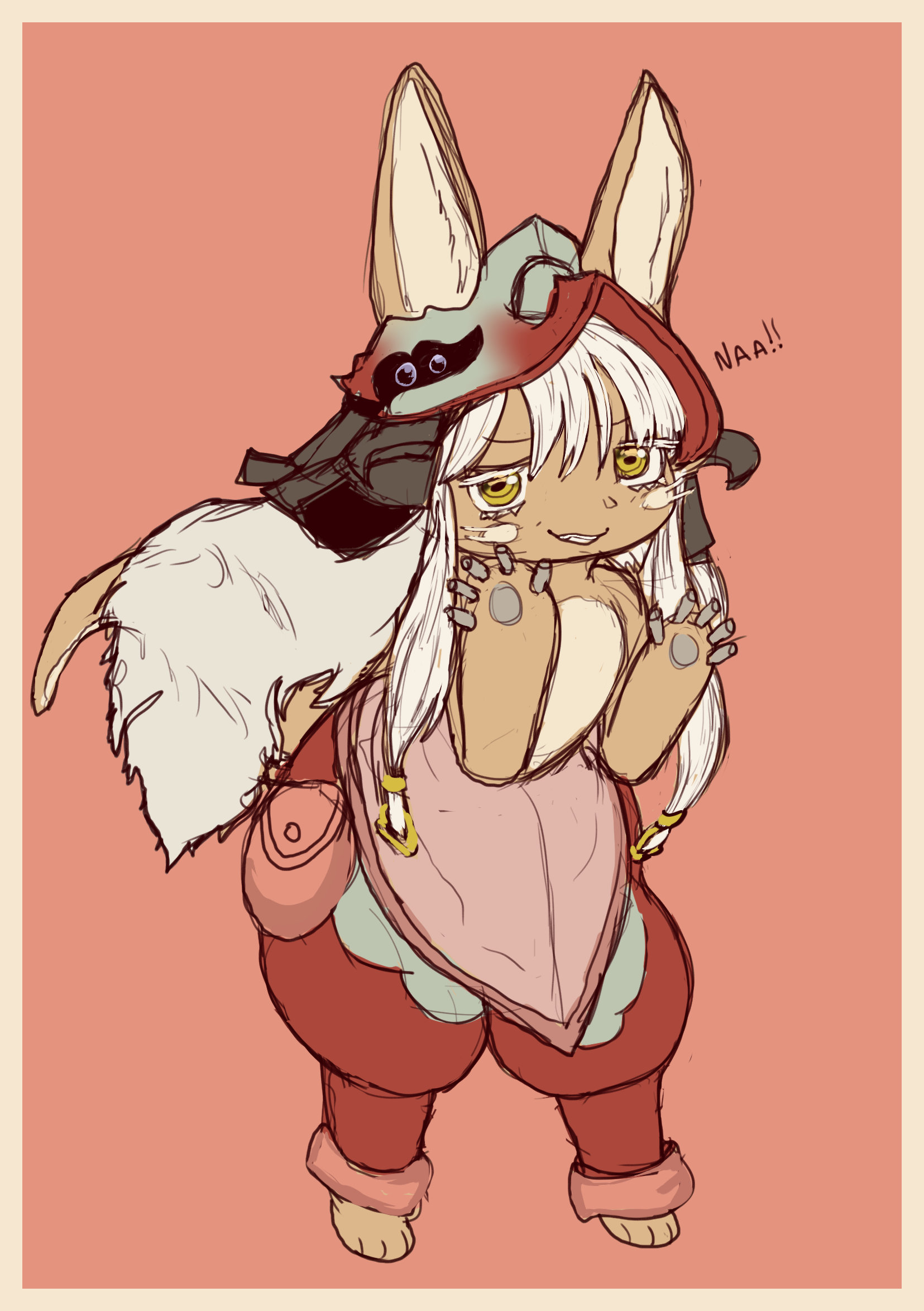 Nanachi being smug