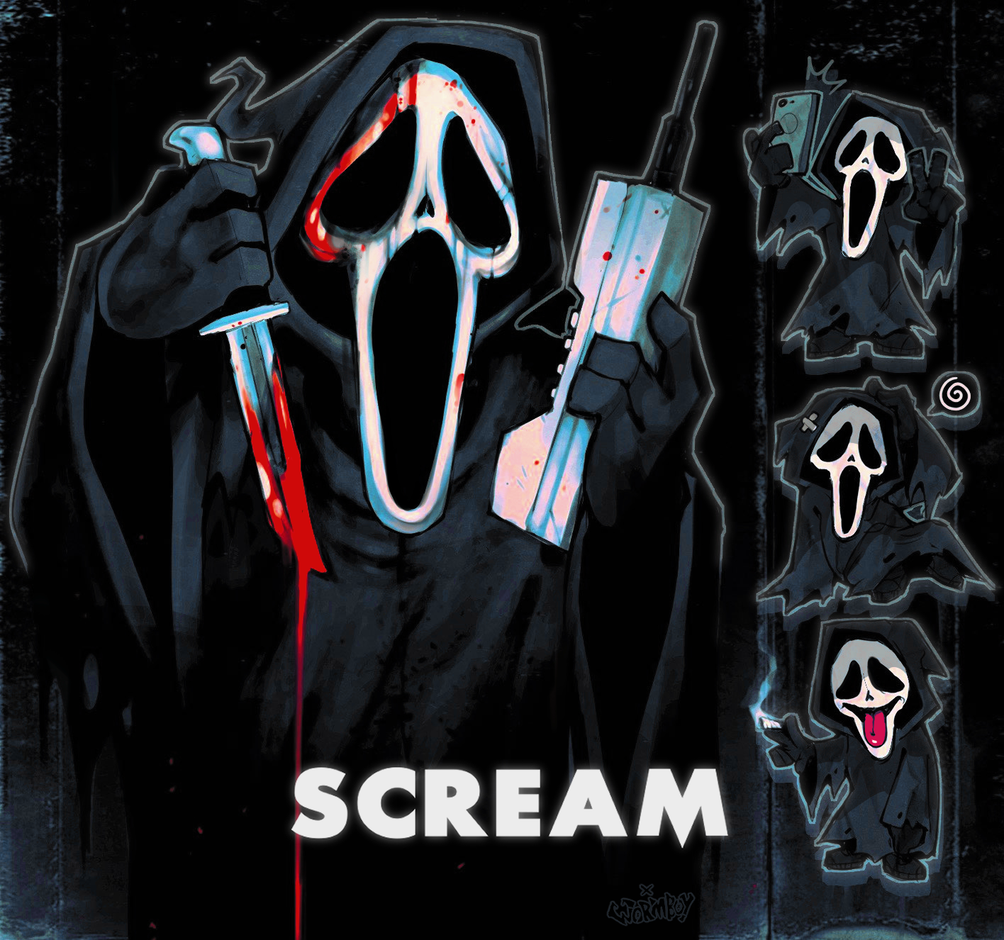 SCREAM - GHOSTFACE KILLER