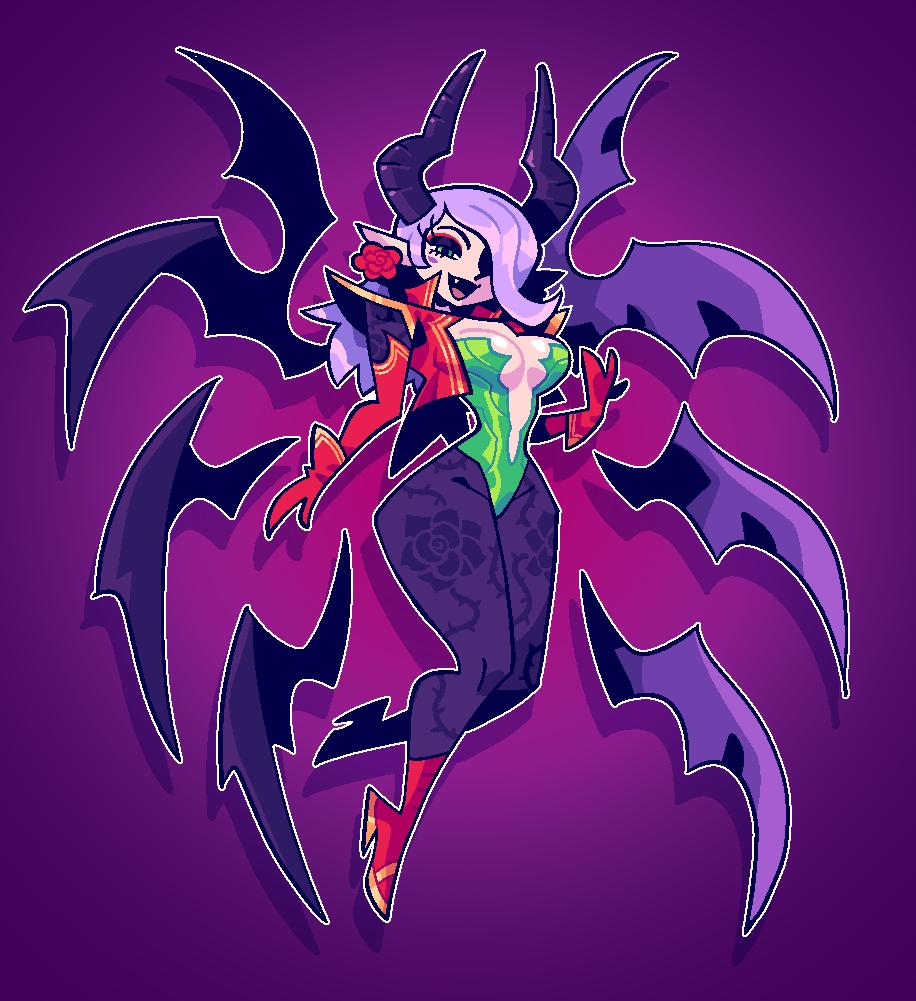COMMISSION: Demon Seraph