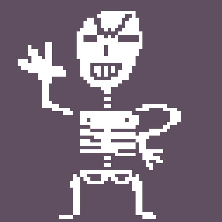 A Spooky Skeleton