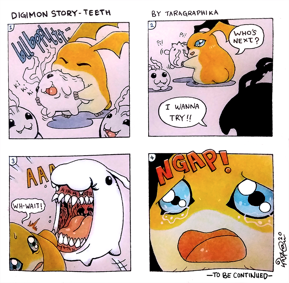 Digimon Story_Teeth