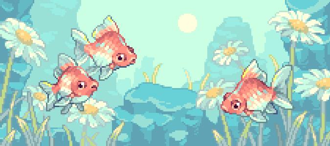 fish daisy wheee
