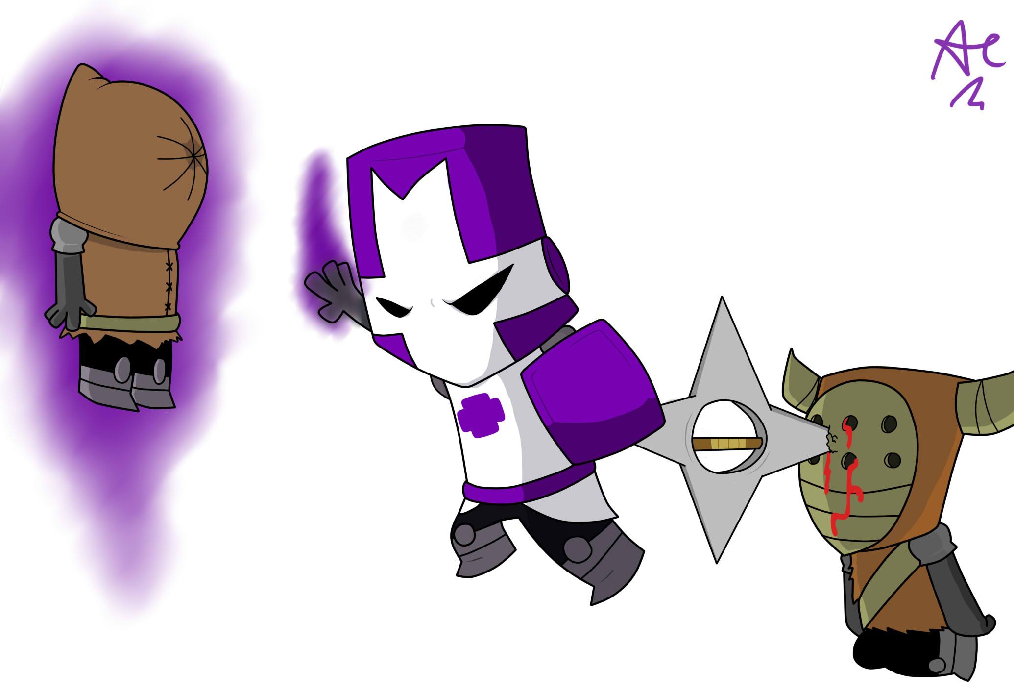 Purple Knight