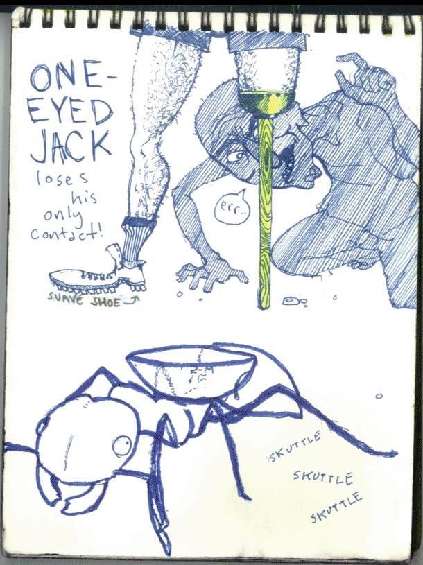 CalArts Sketch Book Page 1