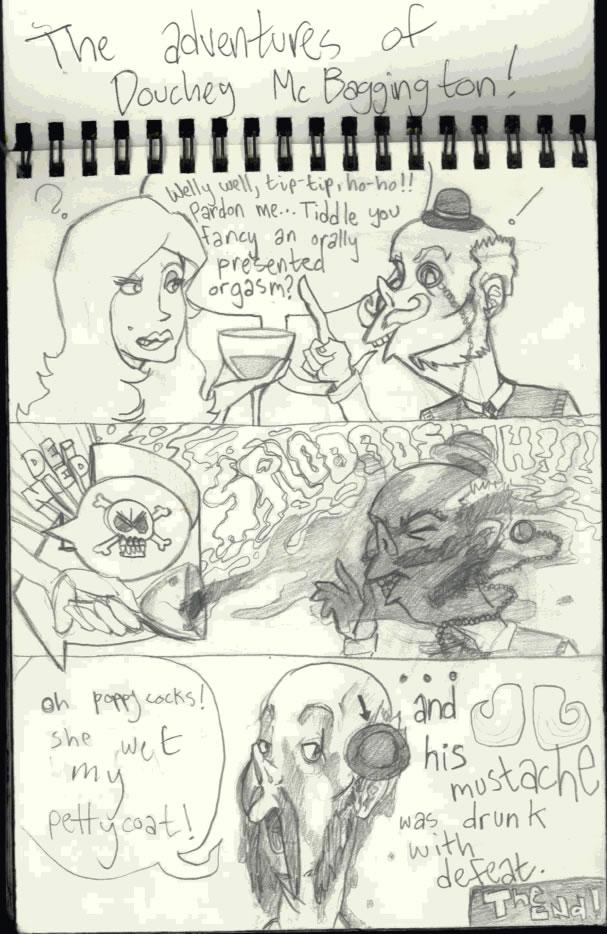 CalArts Sketch Book Page 9
