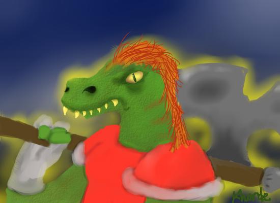Dinosaur Warrior