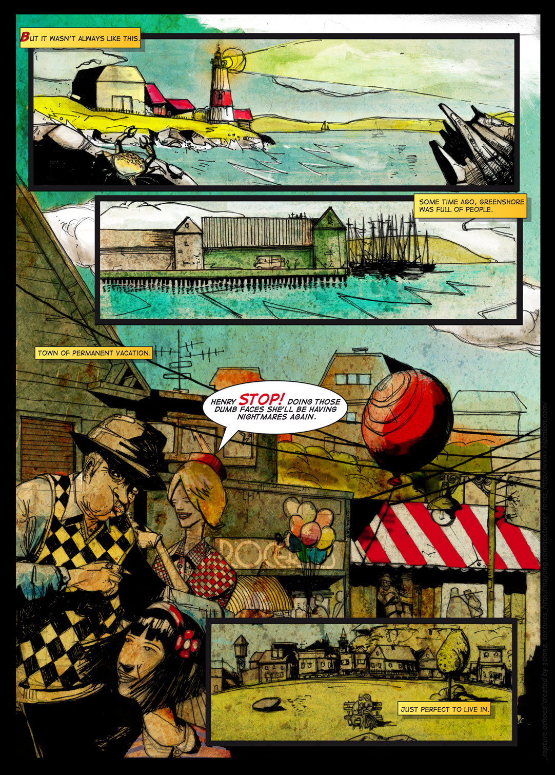 bioshock fan comic book pg2