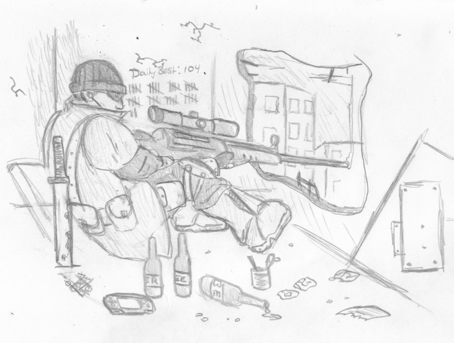 Urban Sniper sketch