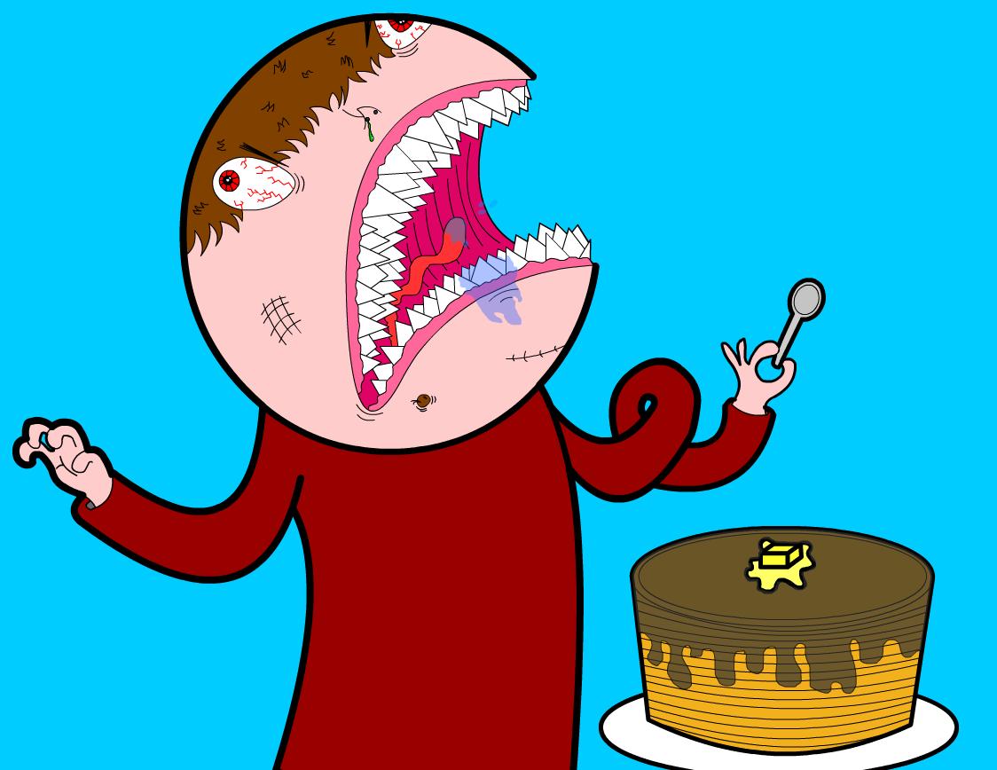 Ah Want Mah Pancakes!!